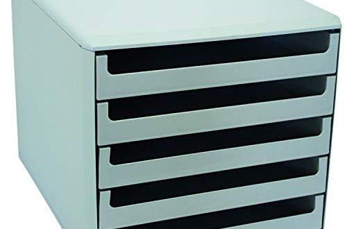 Metzger Mendle 30050909 Schubladenbox mit 5 Schueben hellgrau 500x330 - Metzger & Mendle 30050909 Schubladenbox mit 5 Schüben hellgrau