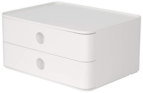 HAN 1120 12 SMART BOX ALLISON Design Schubladenbox stapelbar mit 2 Schubladen - HAN 1120-12, SMART-BOX ALLISON, Design Schubladenbox stapelbar mit 2 Schubladen, snow white